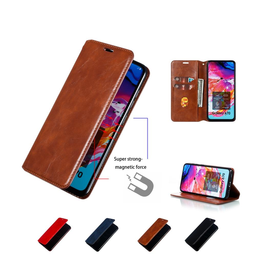 Funda de cuero magnético para Huawei Honor 7S 7A 8A 8S V20 9 10 20 Lite Pro funda con tapa tipo cartera funda para teléfono móvil
