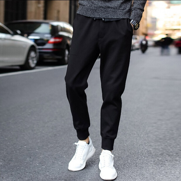 Wholesale hot style supersize male leisure trousers new type cloth version of the super good casual pants male K73