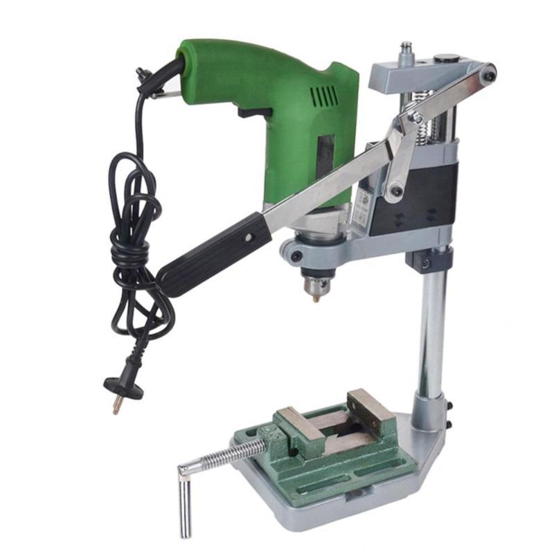 Soporte para taladro eléctrico, soporte para amoladora, soporte para amoladora de una cabeza, amoladora con abrazadera, accesorios para herramienta rotativa de madera