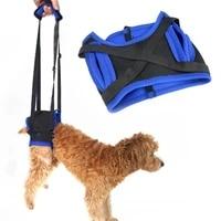 Harnais de levage reglable pour chien  ceinture pour les pattes arriere des vieux chiens  laisse daide  Kit de soutien pour animaux domestiques  echarpe de printemps solide