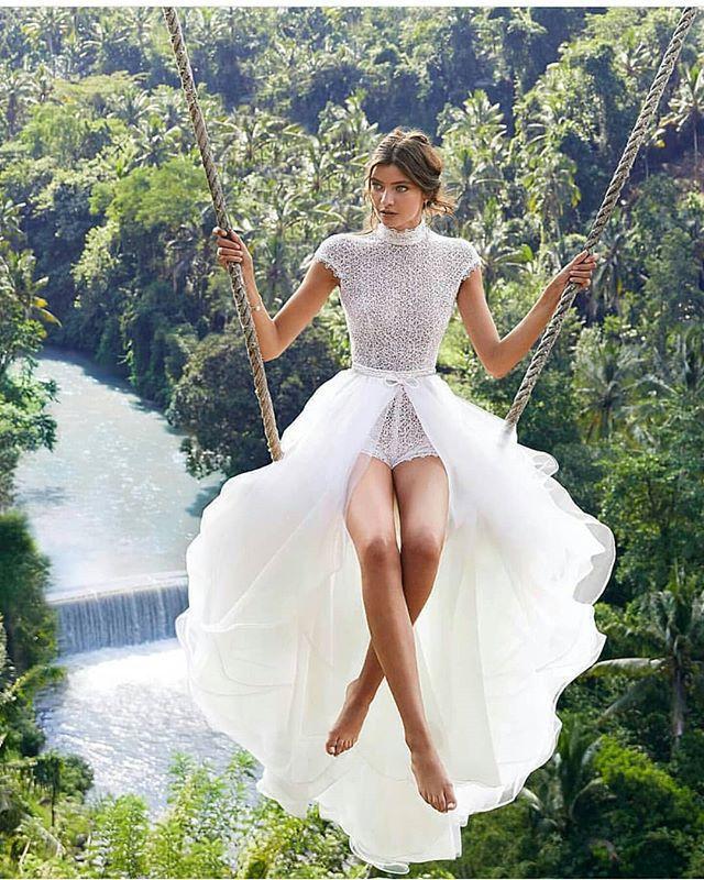 BAZIIINGAAA فستان زفاف بسيط من التفتا أنيق العروس على شكل حرف v الدانتيل زينة فساتين الزفاف مقاس كبير ربيع 2021 رداء دي ماري
