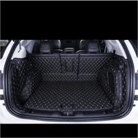 3d leather car trunk mat cargo liner for bmw f45 f46 2014 2015 2016 2017 2018 2019 2020 interior accessories rear tray
