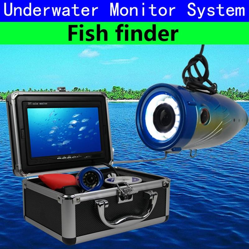 Fish Finder 30M Depth Underwater Waterproof 7