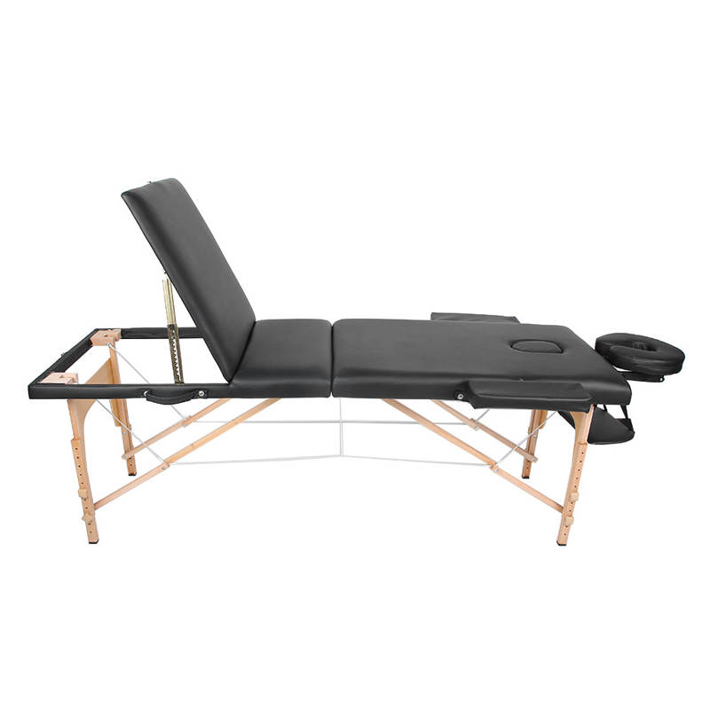 215 x 60cm Folding Portable Massage Table Adjustable Height Massage Bed SPA Table for Salon Home
