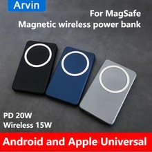 For Apple Mag Safe Magnetic Wireless Power Bank 10000mAh Portable External Battery For iPhone 12 Fas