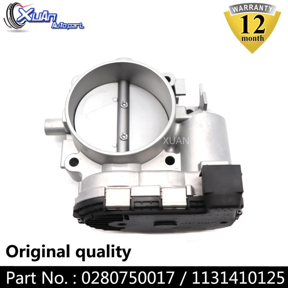 XUAN 0280750017 Throttle Body Actuator Air Valve Assembly For Mercedes-Benz C230 C280 C350 CL500 CLK350 CLK430 CLK500 CLS500