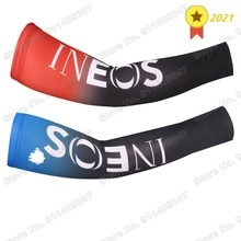 INEOS Grenadier 2021 Breathable Cycling Running Arm Sleeve Outdoor Sports Arm Warmer Manchettes Cycl