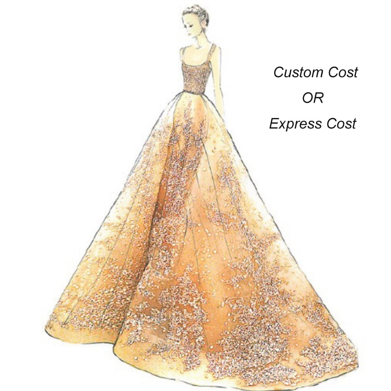 It's Yiiya Custom Fee Or Express Fee for Wedding Dresses Evening Dress Party Gown Bridesmaid Frocks