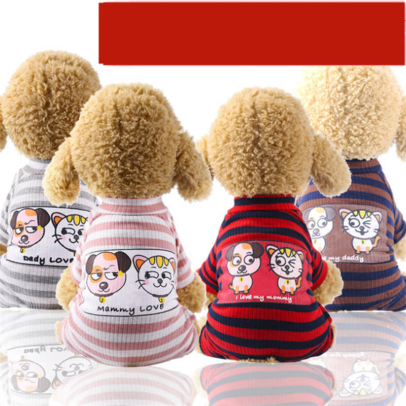 halloween magician style cotton coat cap suit for pet cat dog white black s Dog Pajamas Pet Clothes for Small Dogs Cat Overall Suit Dog Puppy Jumpsuit for Dogs Chihuahua Sleepingwear Pet Clothing Coat