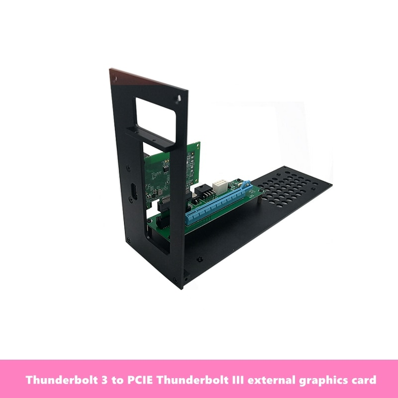 Thunderbolt 3 to PCIE Thunderbolt 3 External graphics card Graphics card docking dock Thunderbolt 3