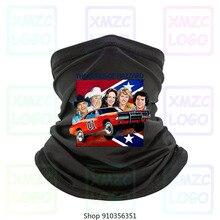 Dukes Of Hazzard T Bandana 1980S Retro program telewizyjny 70S ogólne Lee 100 Bandana bawełniana szal na głowę chustka na szyję cieplej kobiety mężczyźni