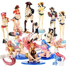 Anime Een Stuk Nami Robin Hancock Kalifa Rebecca Vivi Bikini Bb Ver. Badpak Sexy Gal Pvc Action Figure Collectible Model Toys