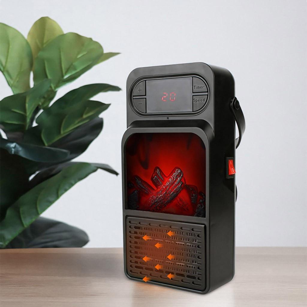 Calentador De Mini portátil chimenea eléctrica Calentador De aire caliente calentadores De espacio para casa mano Грелка Для Рук Calentador De Manos