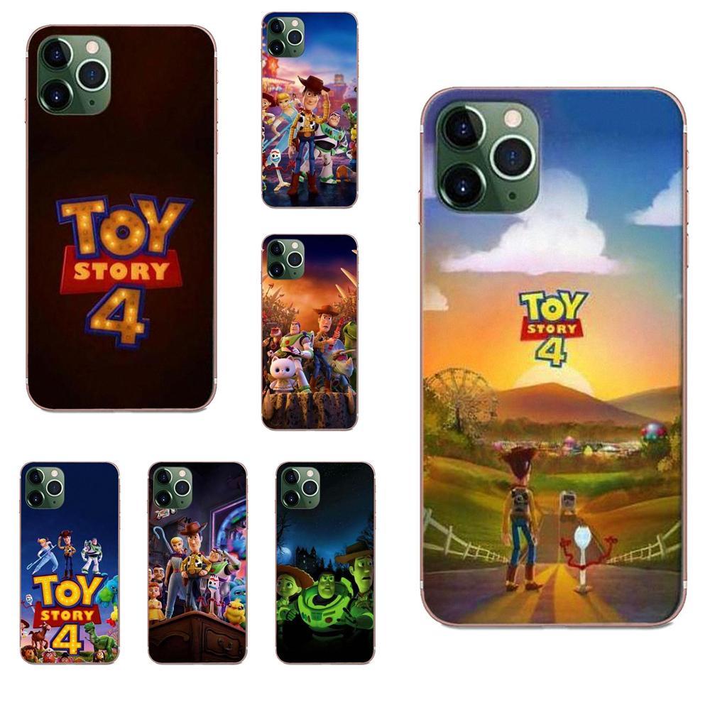 TPU imprimir Capa para Samsung Galaxy J1 J3 J4 J5 J6 J7 A10 A20 A20E A3 A40 A5 A50 A7 2016 de 2017 de 2018 juguetes historia 4 Buzz Lightyear.