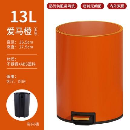 Kawaii Mini Trash Can Kitchen Bathroom Garbage Office Kitchen Cabinet Storage Trash Can Basurero Cocina Household Merchandises enlarge