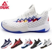 peak men basketball shoes lou williams lightning rebound sneakers gym outdoor anti slip wearable train breathable sports shoes