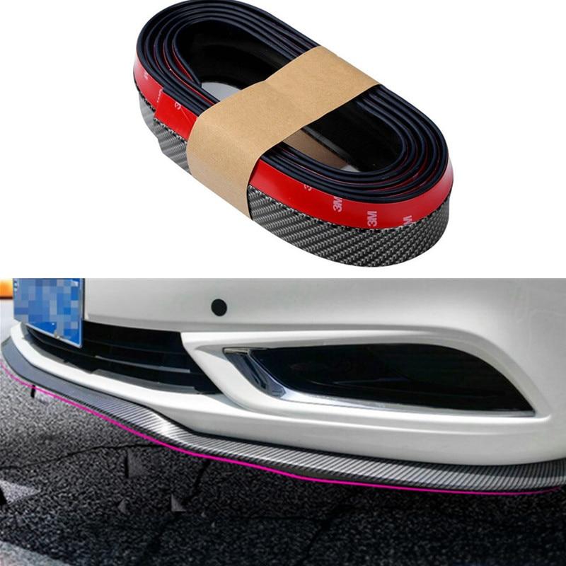Falda de parachoques delantero de pala de coche que rodea las tiras de parachoques de labio delantero para CITROEN DS3 SEDAN DS5 DS6 C2 C3 C4 C5 C6 C8