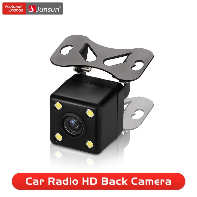 Junsun Car Rearview Camera For DVD Reverse Backup Parking Camera 120 Degree Rear View Camera Metal body 480P Reverse Camera