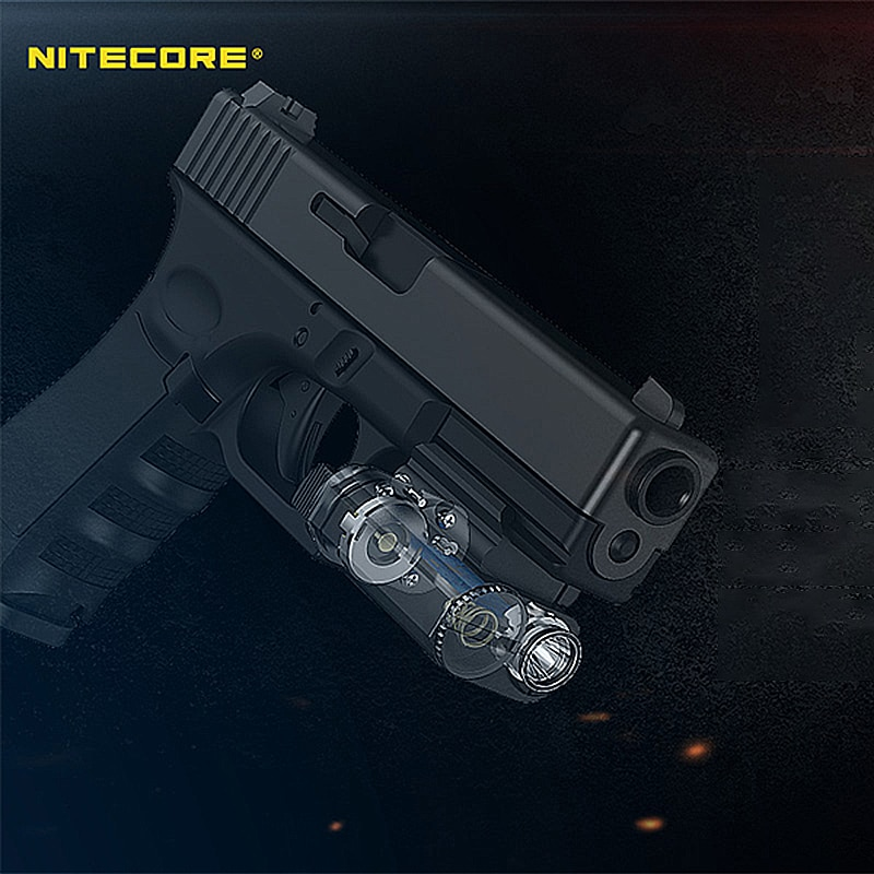 NITECORE NPL20 Gun Flashlight CREE XP-G3 S3 LED 460 Lumen Tactical Flashlight Led Flashlight for Weapon Shooting Sports enlarge