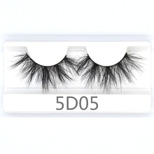 25mm 100% handmade natural thick Eye lashes wispy makeup extention resuable 3D mink hair volume soft