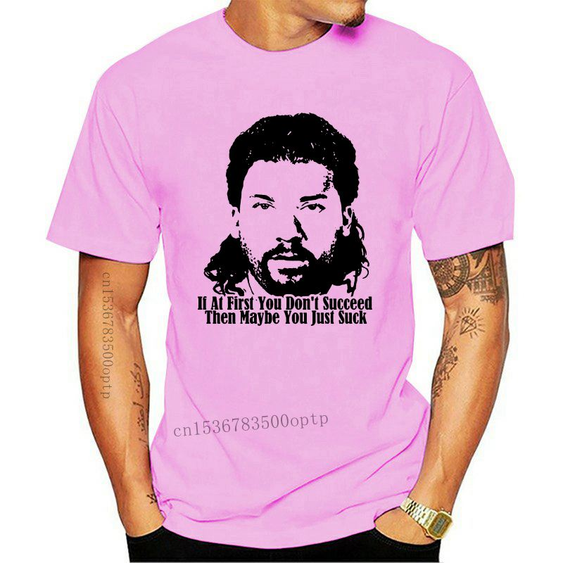 New If At First You Don Succeed Kenny Powers Quote T Shirt Couple Cool Fashion Youth