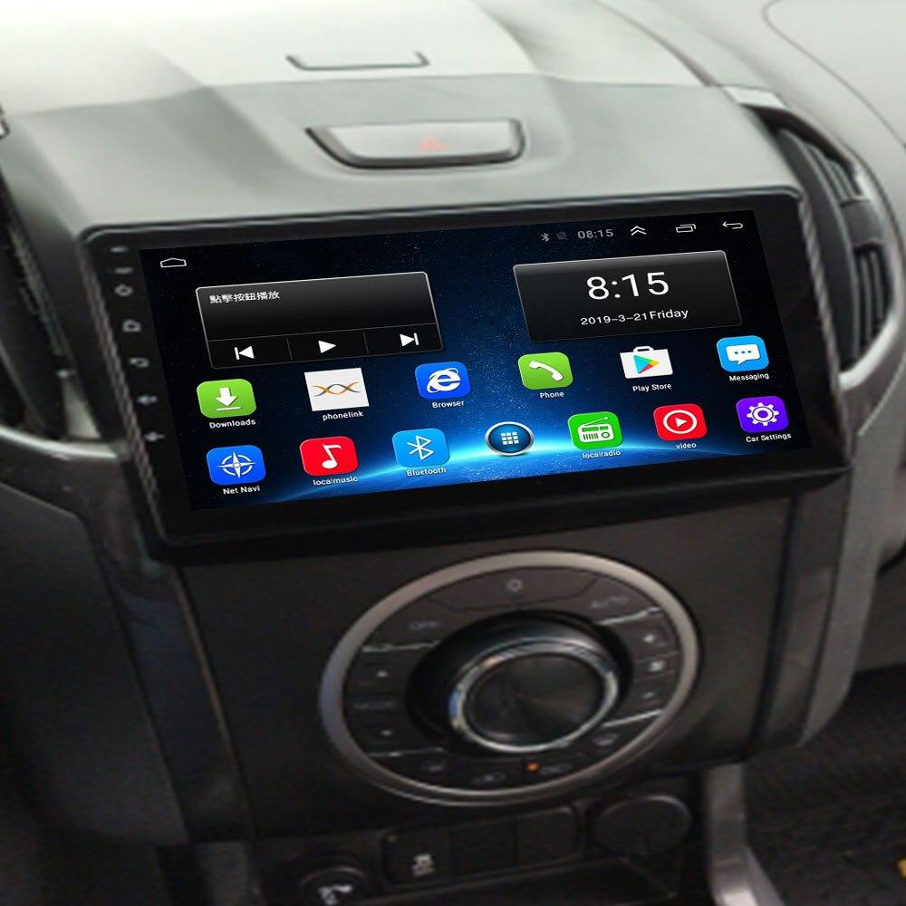 Android 10.0 2.5d + ips 2 din rádio do carro multimídia player para trailblazer chevrolet colorado s10 isuzu d-max MU-X dvd navi