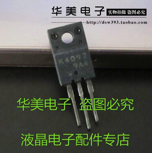 Entrega gratuita. K4097 importa LCD panel plano TV especial conmutador FET