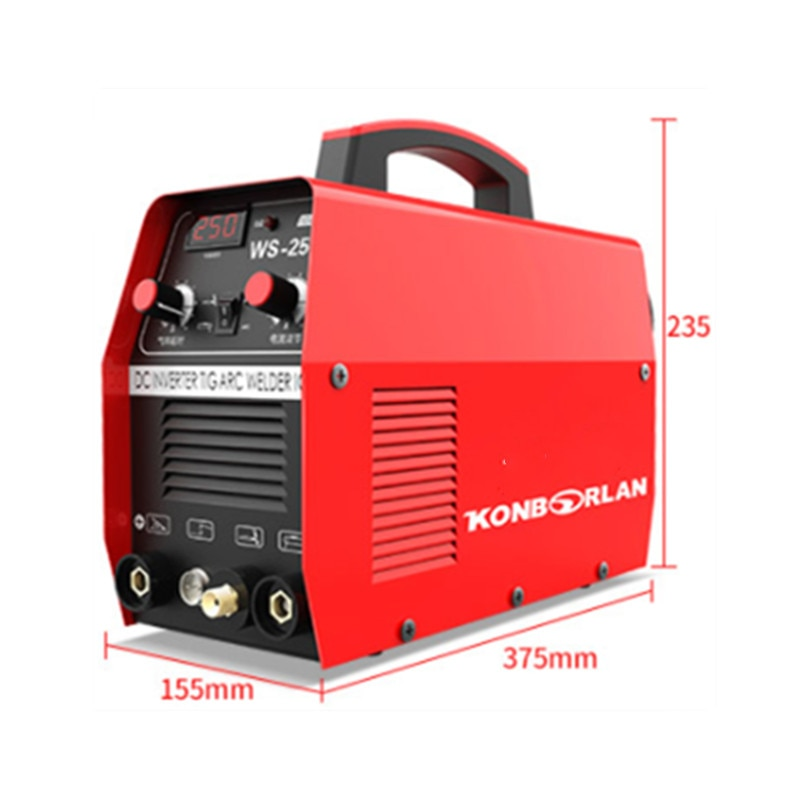 WS-250 آلة لحام بقوس الأرجون العاكس ، لحام منزلي صغير 220 فولت