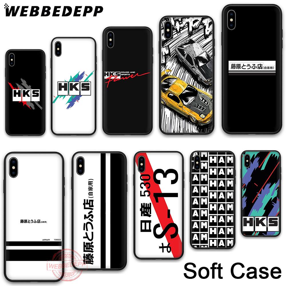 WEBBEDEPP 130N HKS Япония AE86 классный мягкий чехол для телефона для iPhone X XR XS 11Pro Max 7 8 6S Plus 5 5S SE 8Plus 7Plus 11 Pro Max чехол s
