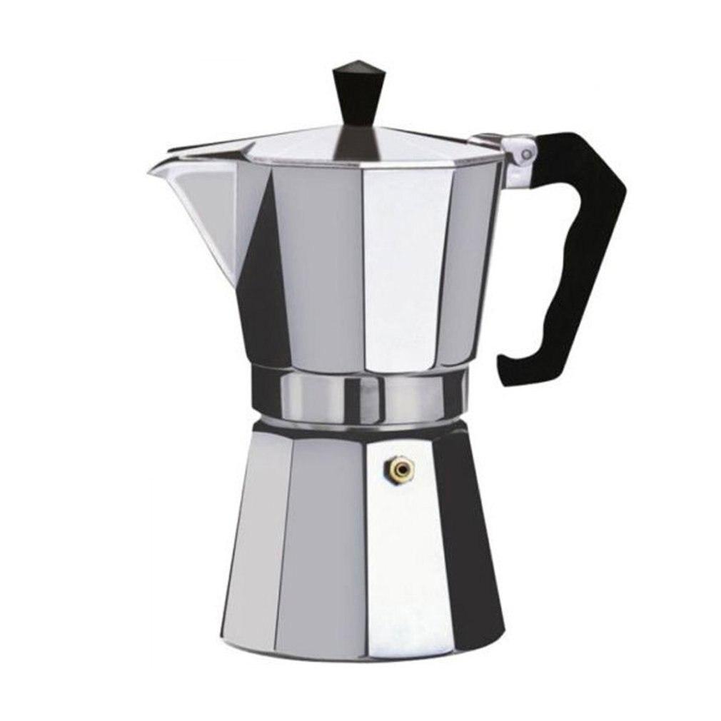 صانع القهوة الألومنيوم موكا اسبريسو Percolator صانع كنكة القهوة براد لصنع الموكا اسبريسو النار صانع ماكينة إسبريسو