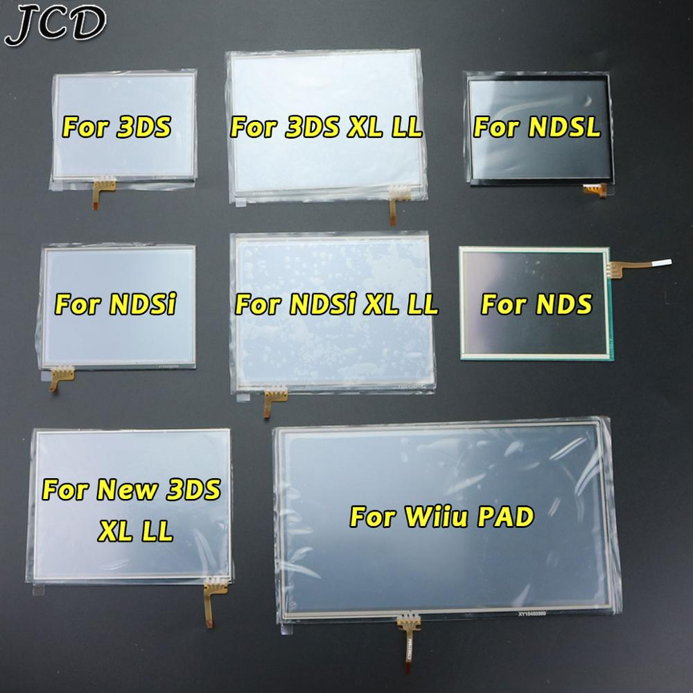 JCD Touch Screen digitizer glass Display Touch Panel Replacement For Nintendo DS Lite For NDSL NDSi XL for New 3DS XL Wiiu PAD недорого