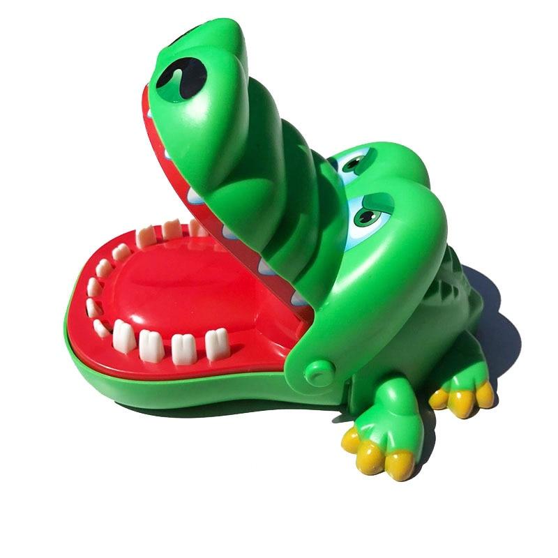 Большая игрушка для пальцев «крокодил», игрушка «Акула» для извлечения зубов, игрушка «крокодил» для родителей и детей, игрушки для взрослы...