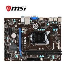 Voor Msi H81M-E33 Moederbord Lga 1150 DDR3 Voor Intel H81 H81M Desktop Moederbord Sata Iii USB3.0 Pci-E X16 2.0 Gebruikt