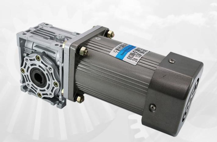 120W140W180W200W250W300W370W220 V with right Angle worm gear reducer RV40 speed regulating motor enlarge