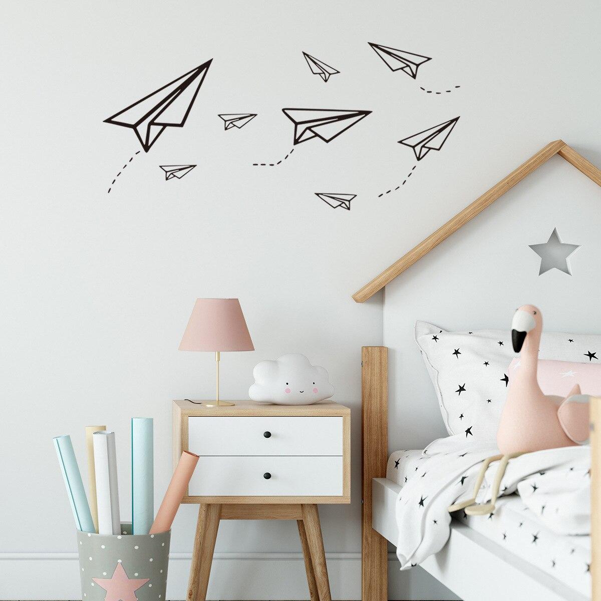 Naklejki na sciane dla dzieli-decoración para habitación de niños, vinilo para pared...