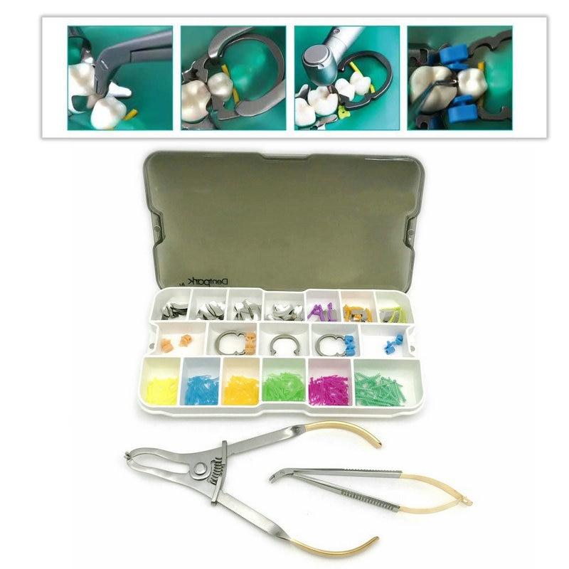1 conjunto dental secional matrix intro kit dentista produto a2 kit