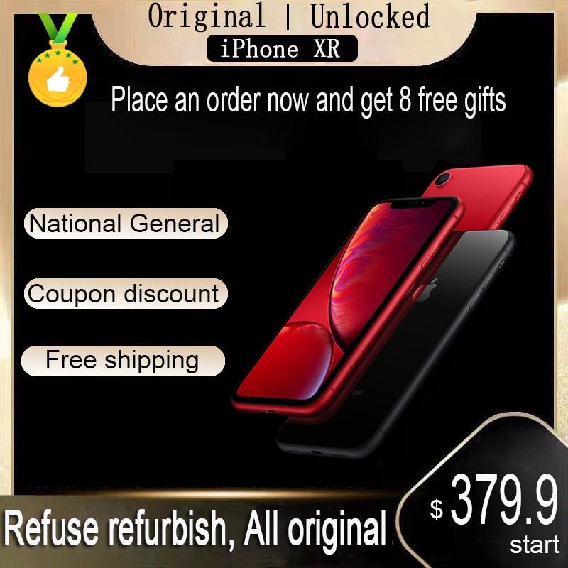 Global version used iPhone XR 128gb Face ID Genuine Original unlocked  Apple  A12 iphonexr cellphone  Mobile Phone smartphone