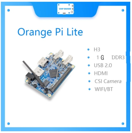Orange Pi Lite 1GB DDR3 مع رباعية النواة 1.2GHz واي فاي هوائي دعم أندرويد ، صورة أوبونتو