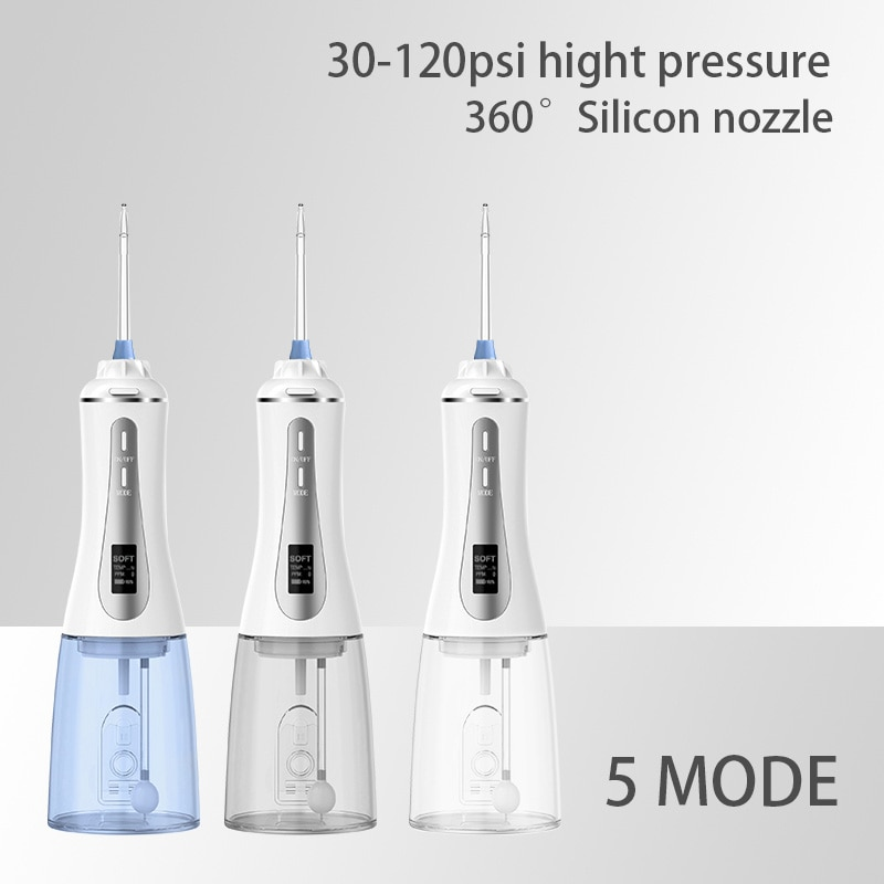 Big water tank 350ml IPX7 waterproof teeth cleaner Dental Oral Irrigator enlarge
