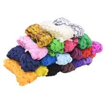 25M multicolore Ric Rac ruban Zig Zag dentelle ruban dhabillage 5mm emballage cadeau ruban pour fête bricolage décoration coupe dentelle artisanat