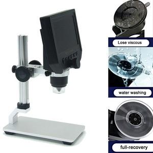 600X Digital Microscope Electronic Video Microscope Soldering Video Microscope Camera 4.3 Inch Lcd Endoscope Magnifying Camera