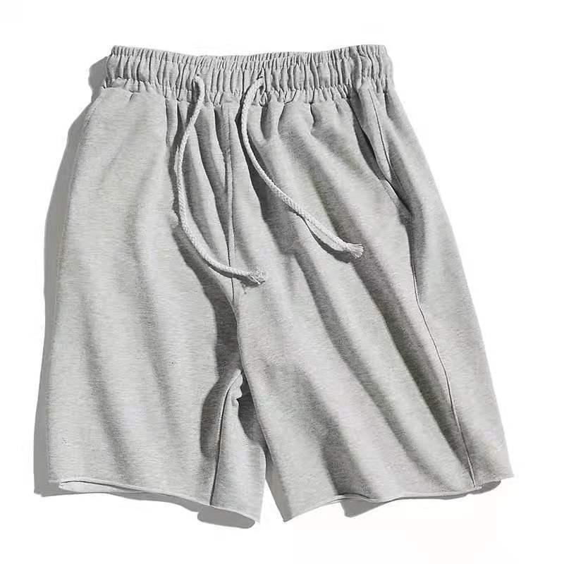 Новые летние повседневные шорты мужские хлопковые брюки размера плюс свободные мужские пляжные штаны спортивные шорты
