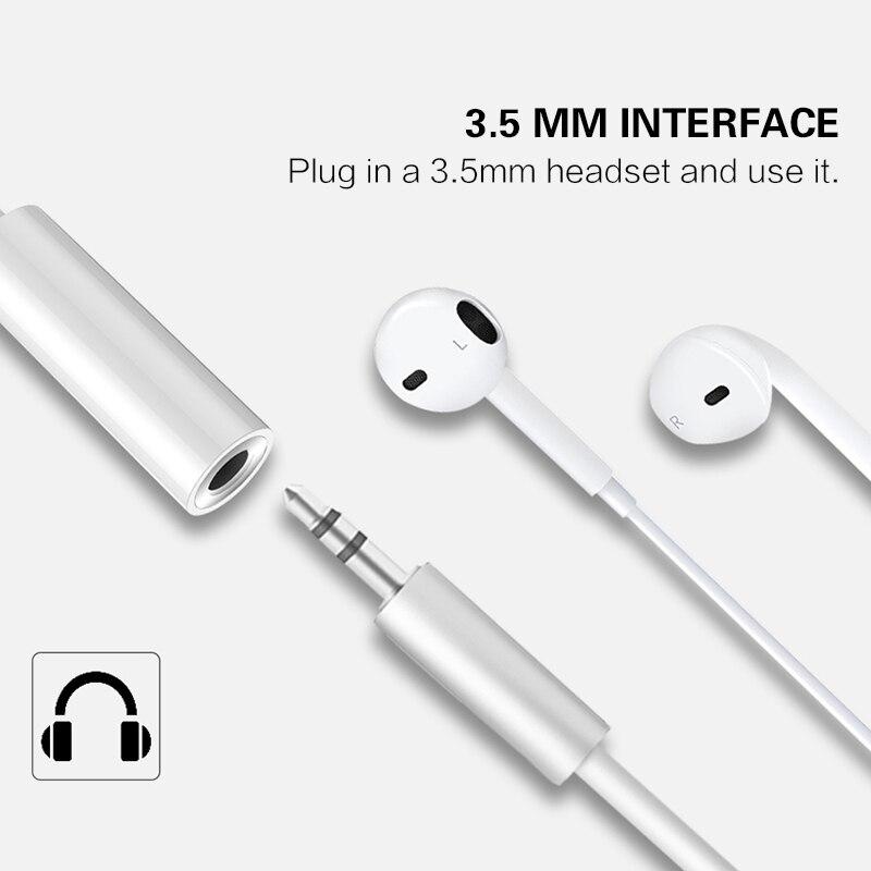 Adaptador de auriculares tipo C a 3,5 USB 3,1 tipo C USB-C macho 3,5mm Cable auxiliar de Audio Convertidor para auriculares adaptador de auriculares TXTB1
