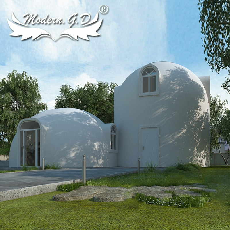 Automated Production Line Modular Structure Prefab Dome Houses
