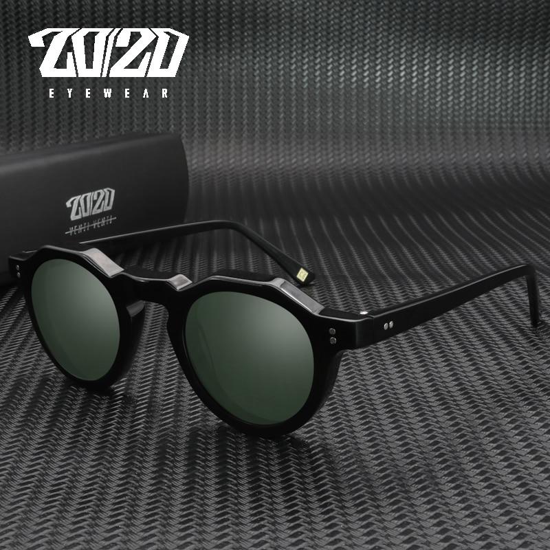 نظارات شمسية مستقطبة من الأسيتات موديل 20/20 للرجال والنساء نظارات شمسية AT8181 occhiali da only donna