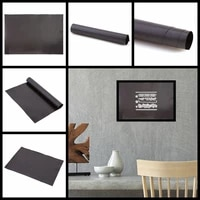 21x29 7cm ribber soft magnet sheet self adhesive sticker black magnetic mats for cutting dies storage easy convenient to paste