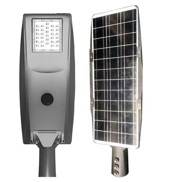 IP65 waterproof 20W 30W 40W 50W Outdoor All In One Solar LED Street Light With Motion Sensor enlarge