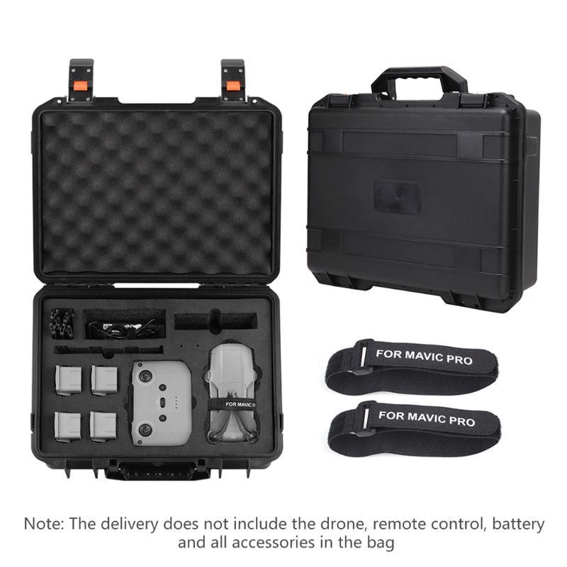De Seguridad impermeable llevar caso Gran Explosión-prueba caja bolso de la hélice del Protector para D-JI Mavic aire Drone 2