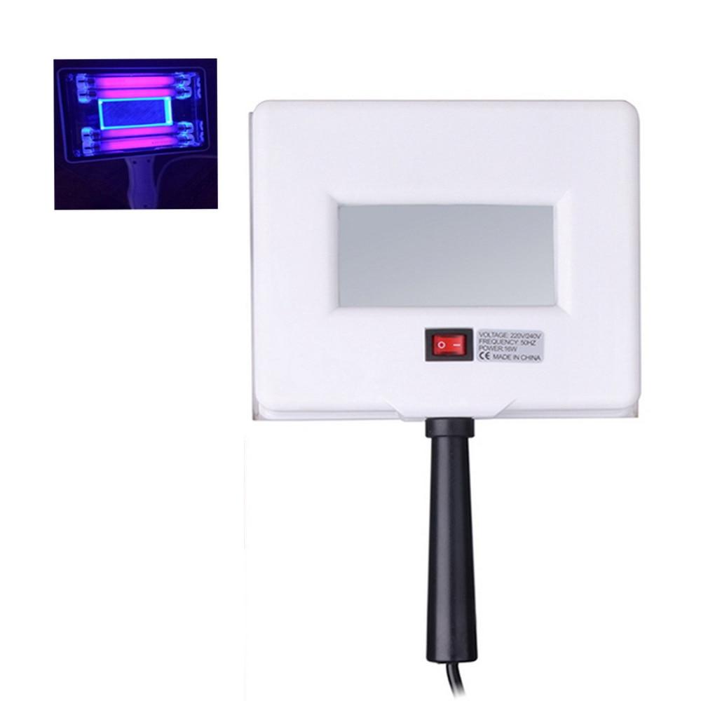 2021 Portable Wood UV Lamp Skin Appraisal Analyzer Facial Skin Vitiligo Testing Examination Magnifying UV Lamp