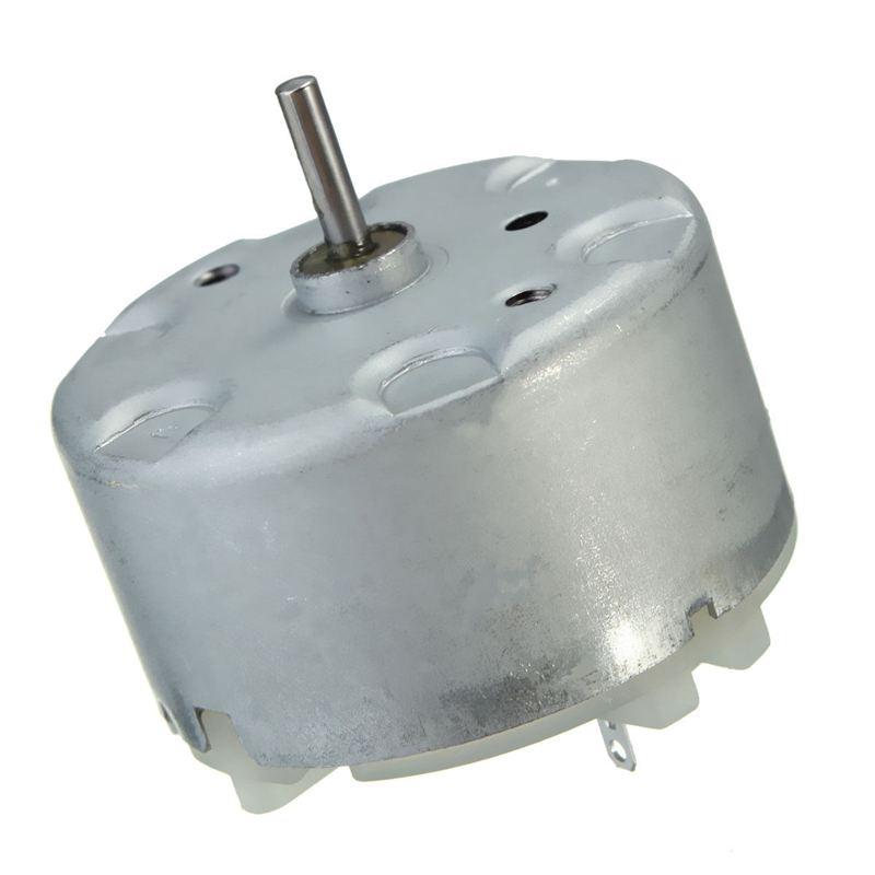 3V-12V Mini DVD VCD Electric Motor 3V-2700RPM 6V-4000RPM RF-500TB-12560